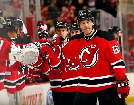 Jaromir Jagr on NHL:n tehokkain eurooppalaispelaaja.