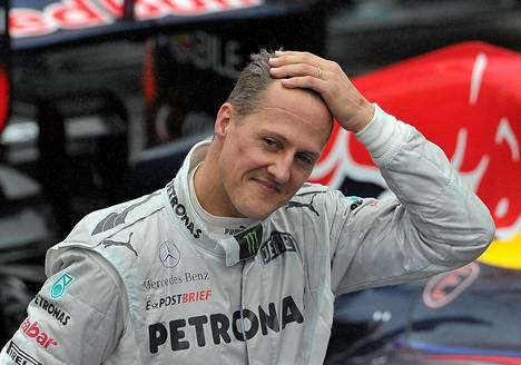 Michael Schumacher loukkaantui 29. joulukuuta Meribelin hiihtokeskuksessa Ranskassa.