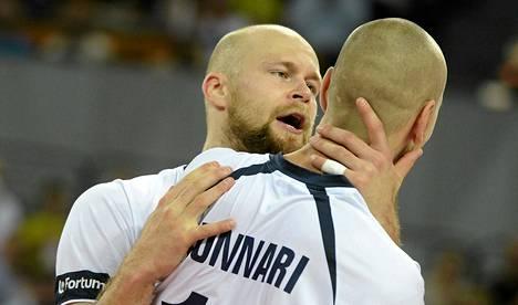 Antti Siltala ja Olli Kunnari olivat Suomen joukkueen avainpelaajia Puolassa pelatussa MM-turnauksessa.
