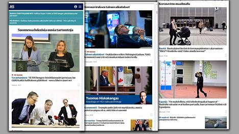 Helsingin Sanomat seuraa koronavirustilanteen kehittymistä monipuolisesti.