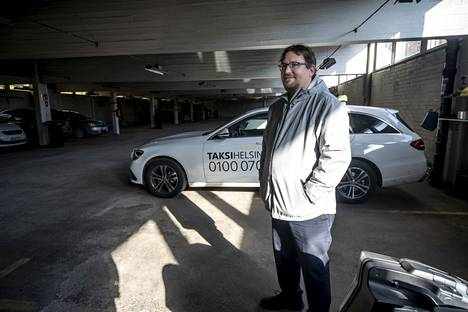 Mikko Himanen, who drives a taxi, has been using the services of a parking garage for about 20 years.  He thinks the hall has served well.