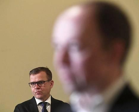 Kokoomuksen puheenjohtaja Petteri Orpo kommentoi äänestäjäselvityksen tuloksia sanomalla, etteivät ne tarkoita linjanmuutosta puolueessa.