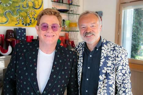Sir Elton John kertoo värikkäästä elämästään Graham Nortonin haastattelussa.