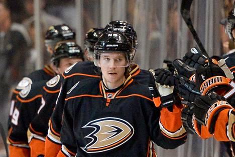 """""""Olen vähän yllättynyt, miten olen jaksanut näin isoja minuutteja pelata"""", sanoo Anaheim Ducksin puolustaja Sami Vatanen."""