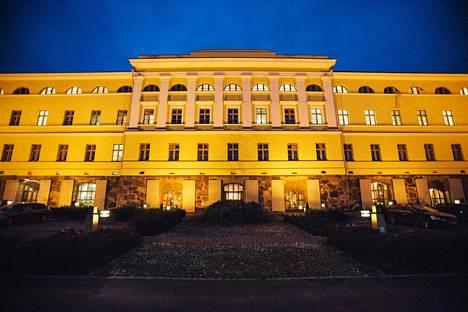 Ulkoministeriön rakennus Helsingin Katajanokalla.
