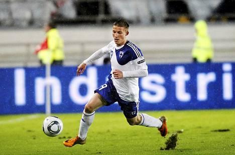 Alexander Ring kuuluu Suomen maajoukkueen vakiokalustoon.