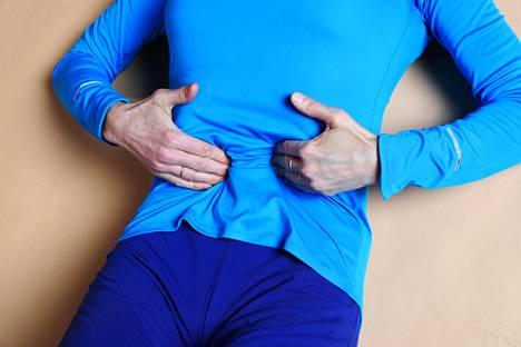 Treenillä voi olla selvä vaikutus vatsan hyvinvointiin.
