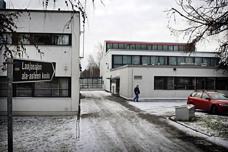 Tahvonlahden oppilaaksiottoalueen lapsista osa siirtyy Laajasalon peruskouluun (kuvassa).