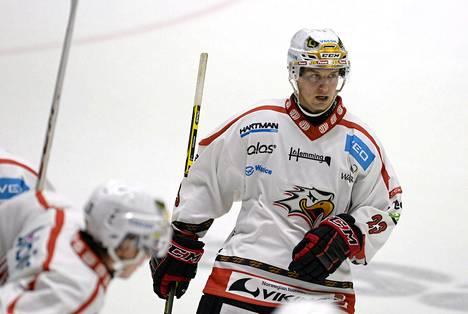 Jarkko Immonen on tehnyt viidessä pelissä tehot 2+1.