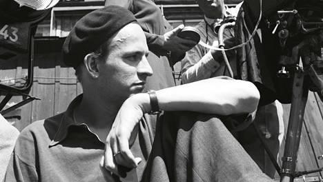 Kris-elokuvaa kuvataan. Elokuva valmistui 1946.