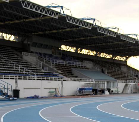 Leppävaaran stadion odottaa taas urheilijoita.
