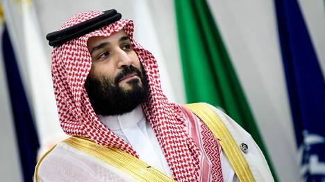 Saudi-Arabian vaikutusvaltainen ja pelätty kruununprinssi Muhammed bin Salman kesäkuussa 2019.