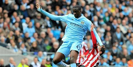 Manchester Cityn Yaya Toure on joutunut kuuntelemaan rasisitisia huutoja.