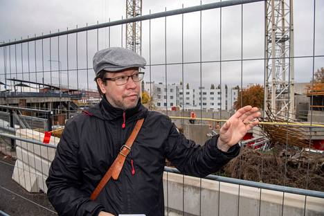 Architect Antti Mentula has been leading the city's own Malmi Central Vision project since 2018.