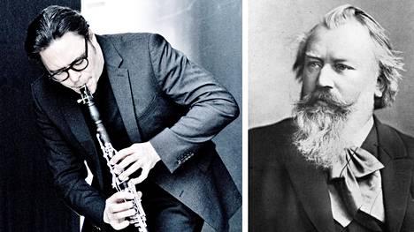 Klarinetisti Reto Bieri tulkitsee Johannes Brahmsia.