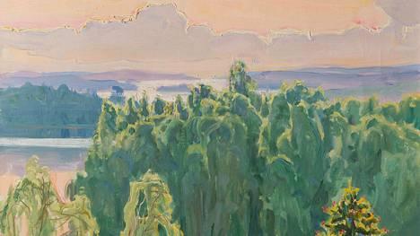 Tämä Gallen-Kallelan teos myytiin verkkohuutokaupassa maanantaina.