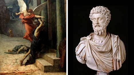 Ranskalaistaiteilija Jules-Élie Delaunay on kuvannut Antoniuksen ruton aikaista Roomaa teoksessaan La Peste á Rome. Roomaa silloin hallinneen keisari Marcus Aureliuksen elämänohjeet ovat kasvattaneet suosiotaan viime vuosina.