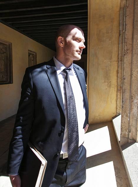 Jason Lepojärvi Magdalen Collegessa Oxfordissa.