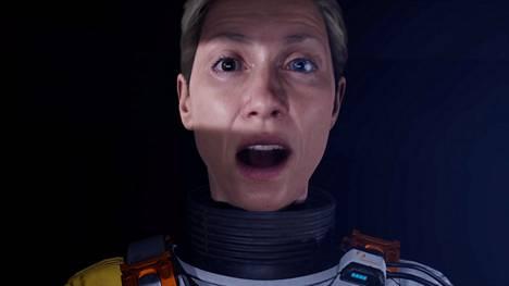 Keski-ikäinen avaruustutkija Selene Vassos on Returnalin päähenkilö.