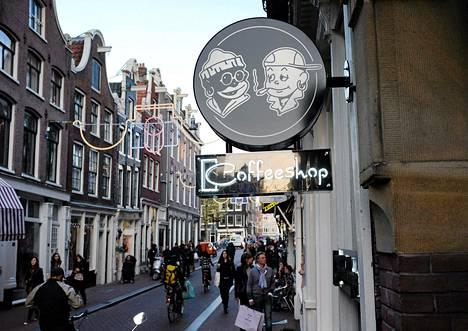 Hollannin yli 600 kannabiskahvilasta noin kolmannes sijaitsee Amsterdamissa.