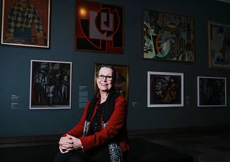 Marja Sakari on käyttänyt viime viikot tutustuen uuteen valtakuntaansa, Ateneumin taidemuseoon.
