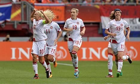 Tanska pelasi elokuussa naisten EM-kisojen loppuottelussa.