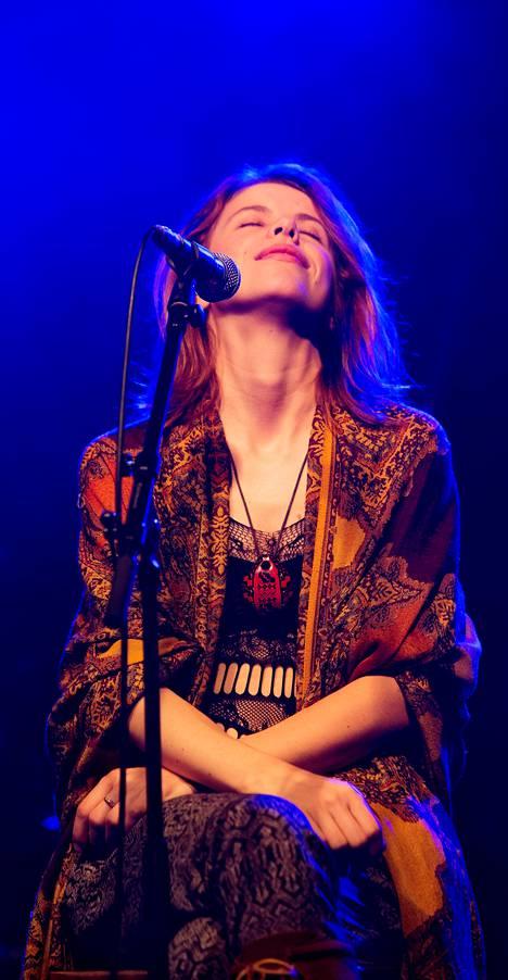 Suvi Richter esiintyi perjantaina Berliinissä.