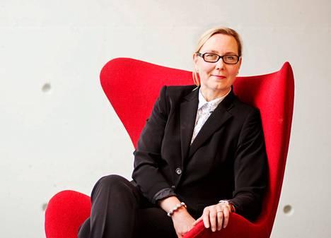 Johanna Lamminen on Gasumin uusi toimitusjohtaja.