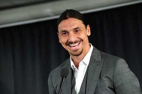 Zlatan Ibrahimović kuvattuna 8. lokakuuta 2019.