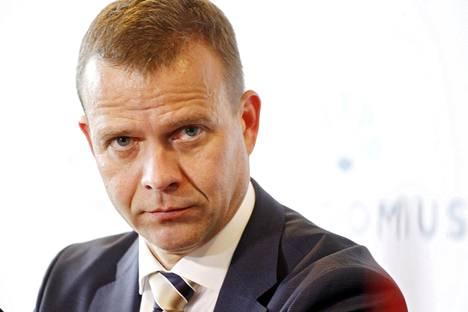 Valtiovarainministeri Petteri Orpo (kok)