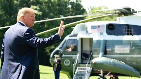 """Donald Trump on yrittänyt saada Irania neuvottelupöytään niin uhkailemalla kuin maanittelemallakin. Jos Iran luopuisi kokonaan ydinohjelmastaan, Trumpista voisi tulla maan """"paras ystävä"""", presidentti sanoi lauantaina."""