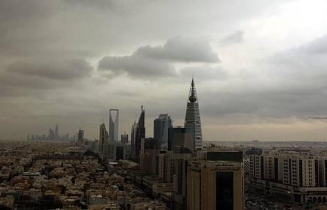 Saudi-Arabian pääkaupunki Riad kuvattuna marraskuussa 2013.