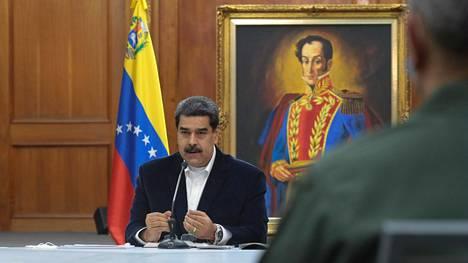 Venezuelan presidentti Nicolas Maduro syytti maanantaina oppositiojohtaja Juan Guaidóa vallankaappausyrityksestä.