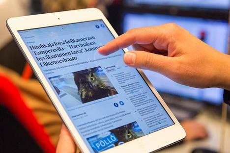 Koulut saavat Helsingin Sanomien digitaaliset sisällöt käyttöönsä Sanomalehtiviikon ajaksi.