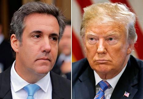 Michael Cohen ja Donald Trump.