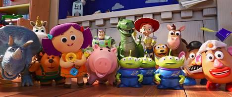 Toy Story 4:ssä nähdään jälleen koko joukko erilaisia leluja.