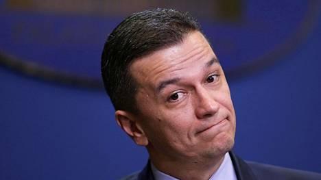 Romanian pääministeri Sorin Grindeanu ei saanut taakseen maan parlamenttia.