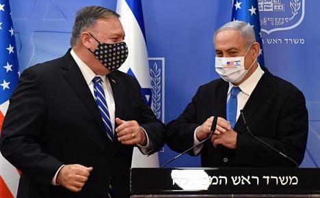 Yhdysvaltain ulkoministeri Mike Pompeo käynnisti maanantaina viisipäiväisen Lähi-idän-kiertueen tapaamalla Israelin pääministerin Benjamin Netanjahun.