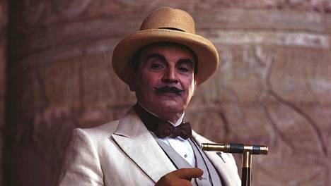 David Suchet on valittu Hercule Poirot'n parhaaksi näyttelijäksi.