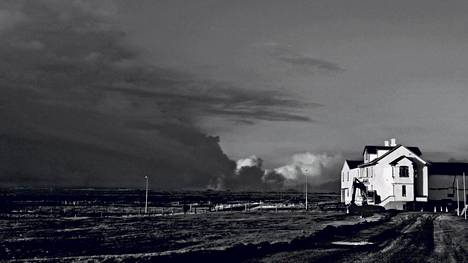 Näkymä Grindavíkista.
