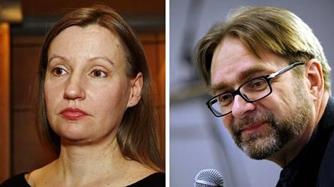 Elina Mustonen ja Eero Hämeenniemi