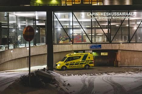 Suomen ainoa koronapotilas on eristettynä Lapin keskussairaalassa.