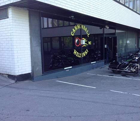 Cannonballilla on kerhotilat Helsingissä.