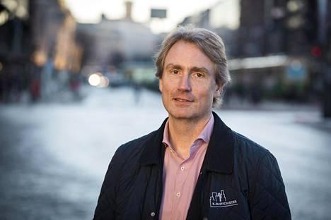 Erik Selin on tullut ryminällä pääkaupunkiseudun kiinteistömarkkinoille.