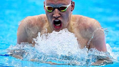 Uimari Matti Mattsson aloittaa kisaurakkansa lauantaina 24. heinäkuuta.