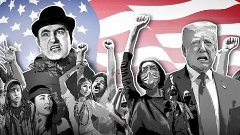 Joe-elokuvan rasistinen nimihahmo (vasemmalla) voisi nykyään olla Donald Trumpin kannattaja.