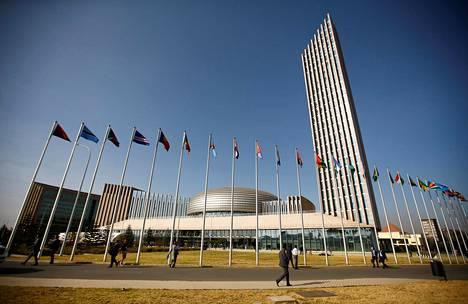 Afrikan unionin päämaja.