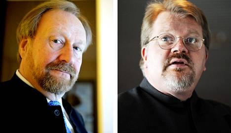 Markku Kivinen ja Johan Bäckman