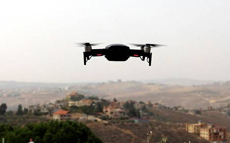Pienoiskopteri lensi Libanonin yllä lokakuun lopulla.