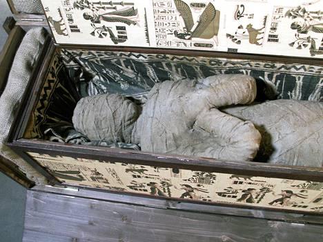 Saksalainen pikkupoika löysi isovanhempiensa ullakolta muumion.